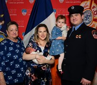 FDNY paramedic whose father died in the line of duty promoted to lieutenant