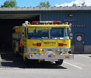 Medway will keep its fire department despite a proposal to pay East Millinocket for firefighters. (Photo/Town of Medway)