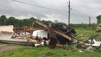 Tornado kills 2 in La., state put on 'high alert'