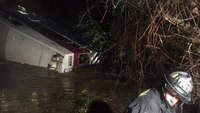 9 injured when Calif. train derails