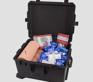 The Stop the Bleed Training Kit Grant program will provide free Stop the Bleed Training Kits, valued at $1,000, to selected applicants to conduct courses and participate in National Stop the Bleed Day on May 21. The kits include instructional booklets, tourniquets, gauze, gloves and Z-Medica Trauma Trainer legs.