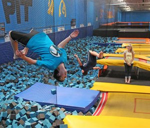 Trampoline park injuries have soared as the indoor jumping trend has spread. (Photo/AP/Rick Bowmer)