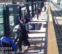 Video: Deputy kills armed man at light-rail station