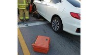 Texas man struck, pinned under vehicle