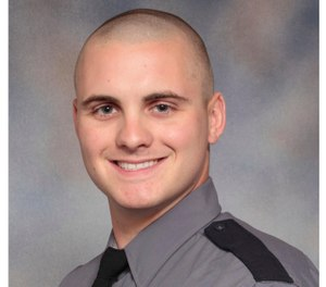 This photo provided by the Virginia State Police shows Virginia State Police trooper Lucas B. Dowell. Authorities in Virginia say Dowell and a suspect were killed in a shootout during a drug investigation, Monday, Feb. 4, 2019. (Virginia State Police via AP)