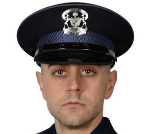 Trooper Caleb Starr died July 31 three weeks after sustaining injuries in a crash with a suspected drunk driver in Ionia County, Michigan.