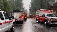 Calif. firefighters headed to Dixie Fire site switch gears after witnessing plane crash