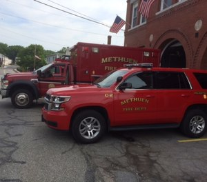 A veteran Methuen firefighter-EMT has sued the city claiming she was passed over for promotion due to her gender.