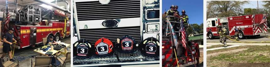 It's a great thing to love what you do, and whether you ride an engine or a truck, you're part of an amazing firefighting family.
