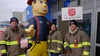 Ill. first responders compete in Salvation Army's 'Gurneys, Guns and Hoses' contest