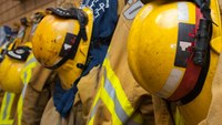 Firefighters come together when the going gets tough