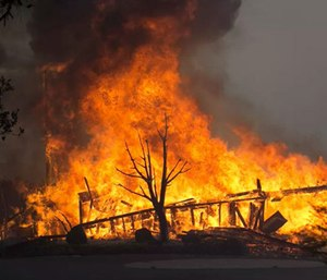Sonoma County's Board of Supervisors approved plans Monday for a restructuring of emergency operations after an internal report concluded that emergency workers were unprepared for the October fires. (Photo/AP)