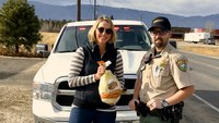 Idaho sheriff's office gives out 'turkeys or tickets'