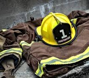 Turnout gear laying on sidewalk. (Photo/Pixabay)