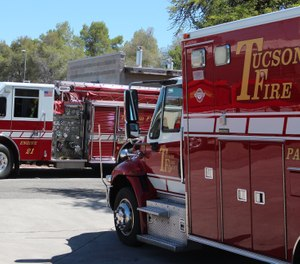 Wait times for 911 callers in Tucson were reduced by three-fourths after the city upgraded its dispatch system and consolidated its police and fire-EMS communication centers. (Photo/Tucson Fire Department Facebook)
