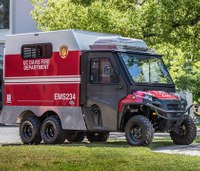 University fire dept. debuts mini ambulance for large events