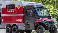 University fire dept. debuts mini ambulance for large events