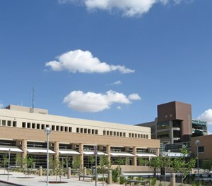 The University of New Mexico Hospital has banned San Juan Regional Medical Center from landing its helicopters on the hospital's helipad for 10 days after a reported policy violation.