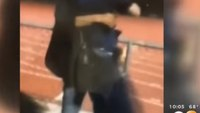 Video: Teen bodyslams Calif. SRO at high school football game