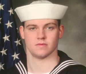 Gunner's Mate Seaman Dakota Kyle Rigsby, 19, from Palmyra, Virginia. (U.S. Navy via AP)