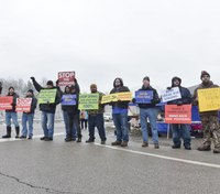 W.Va. COs picket to raise awareness of understaffing