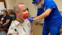 'History in the making': EMS professionals share COVID-19 vaccine experience