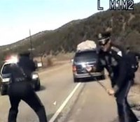 Mom who drove van of kids charged again in NM pursuit