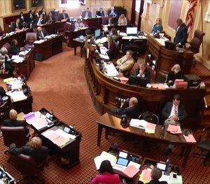 The Virginia Senate passed a controversial 'red flag' bill that would allow police to temporarily take people's guns if a judge deems them a threat to themselves or others. (Photo/Virginia Senate)