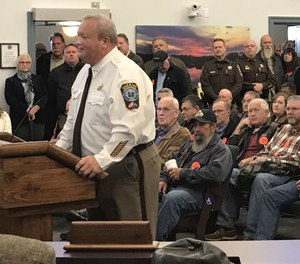 Culpeper Sheriff Scott Jenkins said he would swear in thousands of auxiliary deputies if state gun control laws are passed.