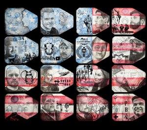 Air Force veteran Shawn Ganther artwork,