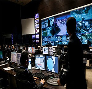 Real-Time Crime Centers are used to manage voice, video and data. (Image Motorola)