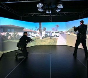 Simulators combine aspects of range training and classroom learning to allow officers to become more proficient in these areas.