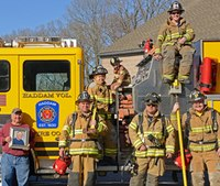 Firefighting couple takes family tradition to next level