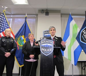 Burlington Mayor Miro Weinberger announces the resignation of Police Chief Brandon del Pozo days after it was revealed that del Pozo had used an anonymous Twitter account to heckle a city critic online.