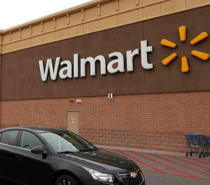 An unidentified police officer working an off-duty job at Walmart arrested a shooter moments after he fatally shot an em,ployee and wounded another individual.
