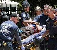 106 arrests sought after Calif. white nationalist rally