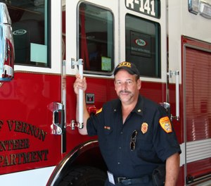 Vernon Deputy Fire Marshal William Call was fired Monday after a sexual harassment investigation found he committed violations including sharing a pornographic video with town staff. (Photo/Town of Vernon Fire Department Facebook)
