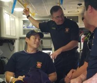 'My leg, my arm, I can't breathe': Shot Dallas firefighter-paramedic recalls last memory