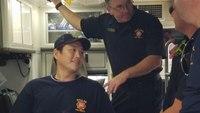 'My leg, my arm, I can't breathe': Shot Dallas firefighter-paramedic recalls last memory