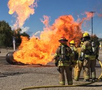 Photo of the Week: Ouray, Colorado, firefighters train on incidents involving LP gas