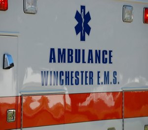 The president of Winchester EMS said a tax levy is needed to address critical staffing shortages. (Photo/Winchester EMS Facebook)