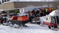 Reality Training: Snowmobile crash in the woods