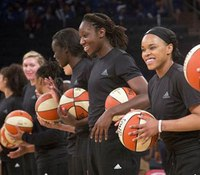 WNBA fines 3 teams, players for shirts worn in wake of shootings