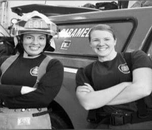 Spokane County Fire District 8 made history when the first all-female team ran the paramedic unit.