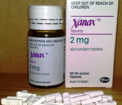 is xanax used for muscle pain