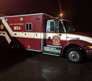 Officials in Xenia, Ohio say calls from nursing homes and assisted living facilities are overwhelming the fire department's EMS capacity. A proposal to build a new nursing home in the city was recently voted down after opposition from city leaders. (Photo/City of Xenia Fire Division Facebook)