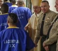 LA's new sheriff celebrates Christmas Mass with inmates