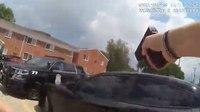Watch: Suspect flees with Mich. police officer hanging on car
