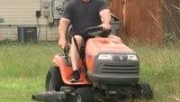 Video: Deputies mow lawn for elderly Marine vet in need