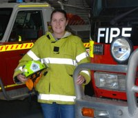 23-year-old named fire captain